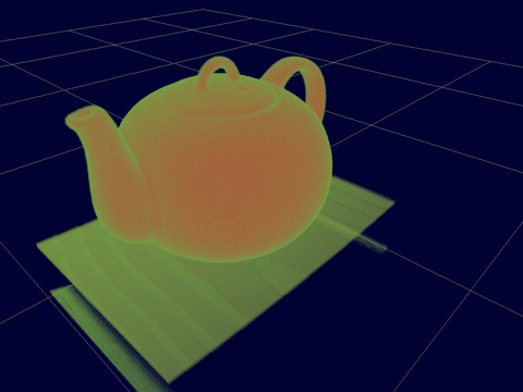 Boston Teapot in the Volume Renderer