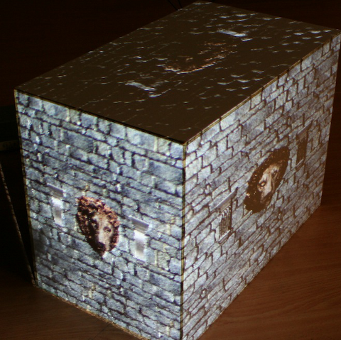 Relief mapped SAR box